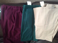 New Ladies size 16 trousers with tags- magifit waistline