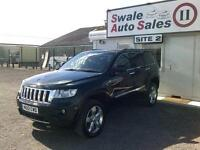 2012 JEEP GRAND CHEROKEE CRD OVERLAND AUTOMATIC 3L FULL SERVICE HISTORY