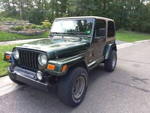 wanted i'm looking  for  old cheap  jeeps wrangler tj