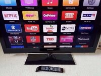 Samsung full HD FREEVIEW HDMI USB TV - excellent condition - collection Derby