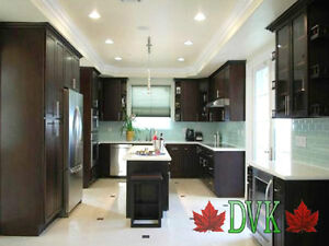 DVK kitchen cabinets up to 60% off- New Charcoal Maple 10' x 10'
