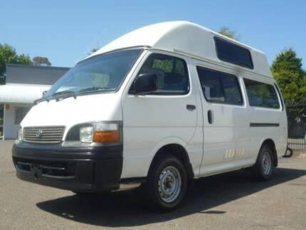 Toyota Hiace Ex-Rental Campervan for sale- Sydney Woolloomooloo Inner Sydney Preview
