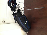 Brand new left hand set of Ram clubs with bag