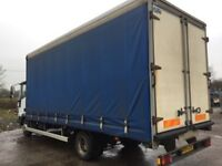 Iveco 75E17 Day Cab Curtainside 3.9 2004 7.5T Lorry