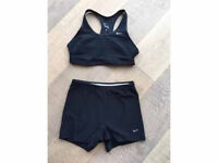 Nike girls ladies gym keep fit set size small medium
