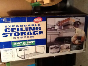 Expandable Ceiling Storage System for SALE! Kitchener / Waterloo Kitchener Area image 1