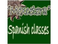 Spanish classes for adults starting in January