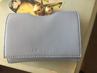 Ted baker baby blue purse
