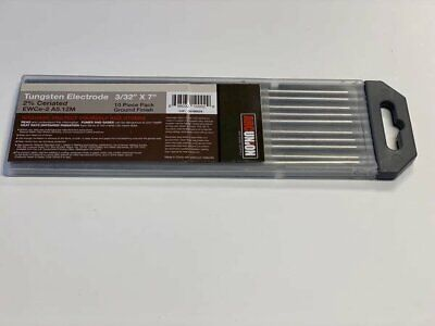 Tig Welding Tungsten Rod Electrodes 2 Ceriated 332 X 7 Grey Wc20 10pk