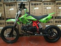 MXB 125cc Pitbike BRAND NEW 2017