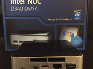 Intel NUC - i3-4010U - 4GB RAM/22GB SSD - K400 Keyboard&Mouse
