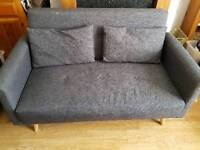 2-seater Hygena Evie Sofa delivery available