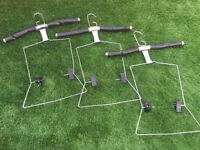 Retail display x6 hangers