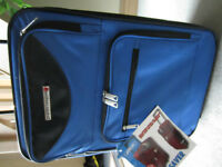 BRAND NEW - JETLINER WHEELED CARRY ON SUITCASE - SPACE SAVER