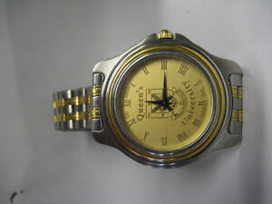 queen's university logo watch 23k gp csi-1