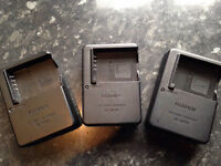 3 X Fuji BC-W126 chargers