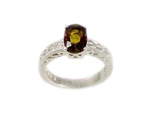 Andalusite Ring Medieval Evil Spirits Amulet Multi-Color Siberian Antique Gem