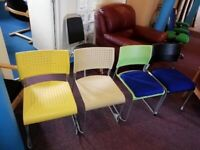 Polypropylene Wipe Clean Chairs