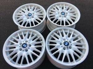 "RARE - Set of 18"" Genuine BMW MV1 style 72 rims in good used con"