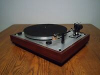 Thorens TD-166 MKII Turntable Very Rare, Vintage & Original Bargain!