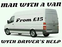 MAN WITH A VAN / PICK UP / DELIVERY / HIRE SERVICES