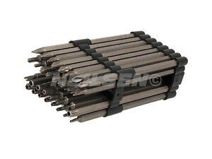 32pc-150mm-Extra-Largo-Destornillador-perforados-SEGURIDAD-JUEGO-LLAVES-SEGURO
