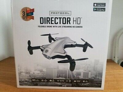 Authority 6182-7RCHA WAL Director Foldable Drone with Live Streaming HD Camera
