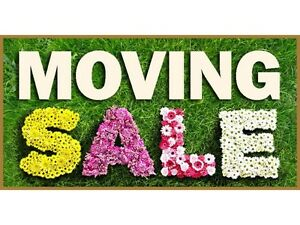 MOVING / GARAGE SALE