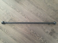 Good Condition- Extendable Curtain Rod (Black)