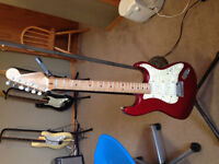 1996 USA Fender Strat Plus in Candy Apple Red