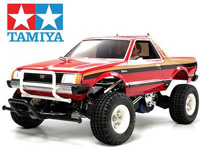 Tamiya 1/10 Subaru Brat 2WD Truck # 58384 # Car Kit