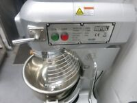 CATERING COMMERCIAL EQUIPMENT 20 LT FOOD DOUGH MIXER CAFE KEBAB CHICKEN TAKE AWAY RESTAURANT KITCHEN