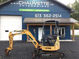 John Deere 17 ZTS Mini Excavator