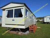 2 x Three bedroomed Caravans Havens Doniford Bay Caravan Holiday