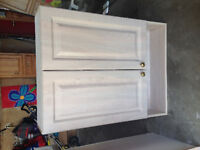Bathroom cabinet for sale/ Matches vanity just posted