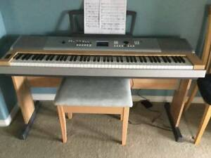 Yamaha Digital Grand DGX-630 Piano Keyboard - $500