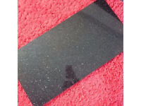 polished black granite tiles with gold sparkle 610mmx305mmx10mm