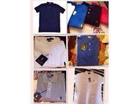Ralph Lauren Small Pony short sleeves Polo Shirts. £15 each
