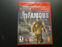 6 Total Games PS3 Playstation 3 including 2 new and sealed.