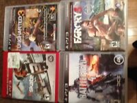 Play Station 3 games