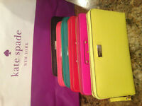 Authentic Kate Spade Leather Wallets