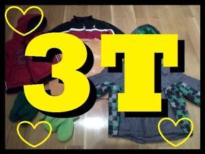 LARGE BAG of WINTER Clothing + JACKET Lot --- BOYS 3T --- $15 !!