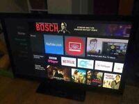"""Samsung 42"""" HD TV wall mountable"""
