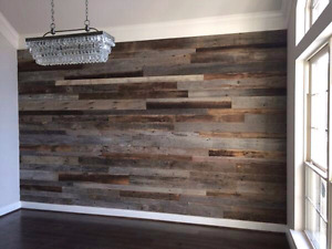 PALLETWOOD ACCENT WALL