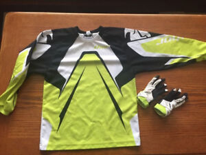 Youth Thor shirt and gloves (set)
