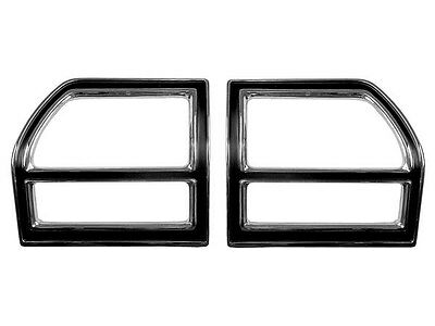 1969 Chevelle Malibu SS396 Tail Lamp Bezel Set With Gaskets CV046D ( In Stock)