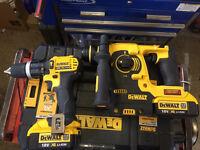 Dewalt 18v sds drill and drill set