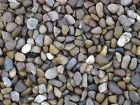 20MM GRAVEL/DECORATIVE PEA GRAVEL/ 1-2-3-10 TONNE LOAD /LOTS AVALIABLE/DONCASTER DELIVERY AVALIABLE/