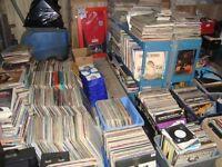 FOR SALE joblot Vinyl records albums lps and singles £1 music dance dj deck