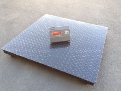 Saga New 10000lb X 1lb 40 X 40 Digital Pallet Shipping Platform Floor Scale